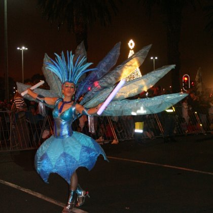 Water Queen at Cape Town Lights festival 2013