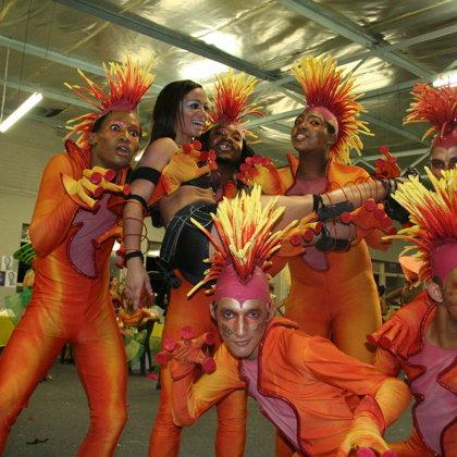 Cape Town Carnival Lead Dancer 2011